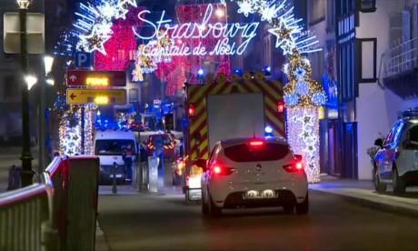 Strasbourg : Trois morts et 12 blessés, selon un dernier bilan