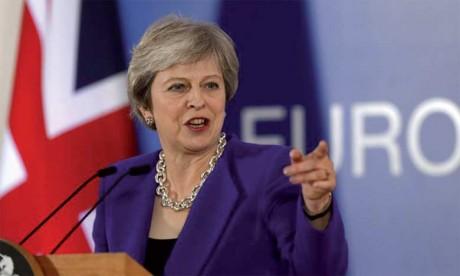 Theresa May condamne les appels à un second référendum