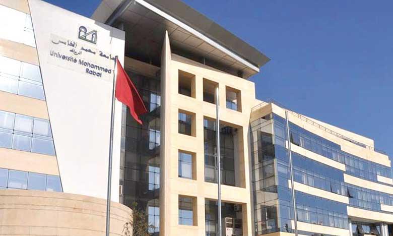 Cérémonie d'investiture officielle du président de l'UM5 de Rabat