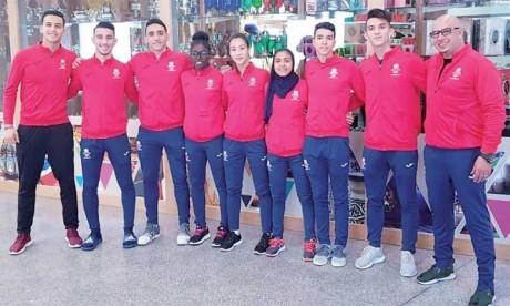 Six médailles au compteur  des jeunes karatékas marocain