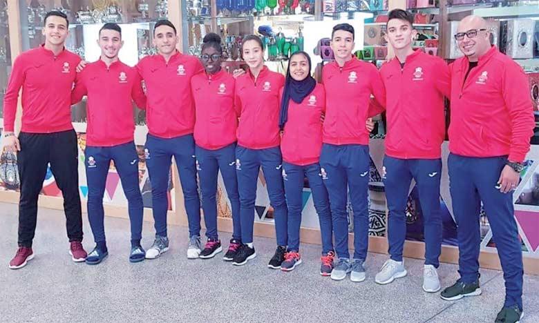 Composée de huit membres, la délégation marocaine a réussi à décrocher une moisson de six médailles (une en or, trois d'argent et deux en bronze).