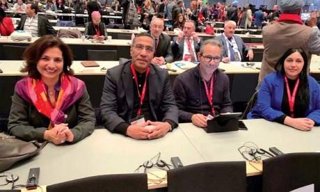 Le Maroc prend part au Congrès mondial  de la Confédération syndicale internationale