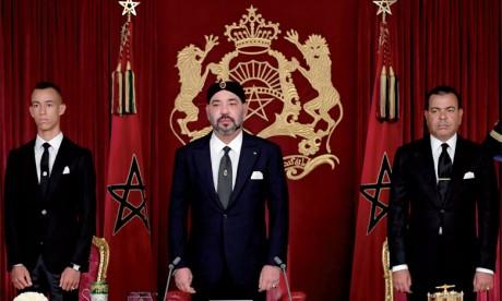 Discours Royal adressé à la Nation à l'occasion du 19e anniversaire de l'accession du Souverain au Trône de Ses glorieux ancêtres. Ph. MAP