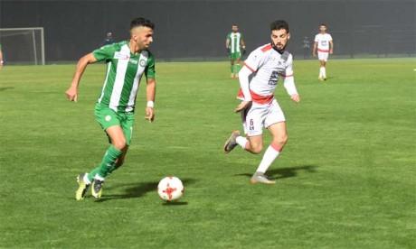 Les buts du match ont été inscrits pour le FUS par awfal Zerhouni et Lamine Diaketé .                                                                                Ph. Saouri