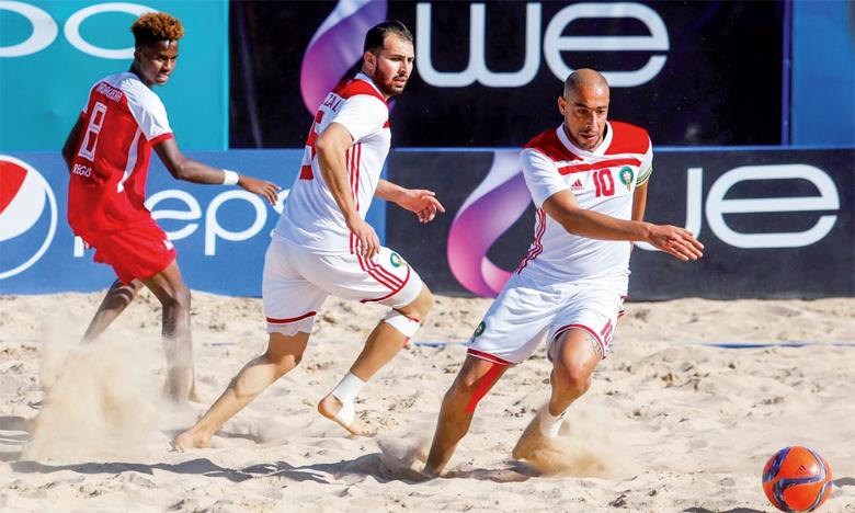 Les joueurs de l'équipe nationale ont fait preuve d'une redoutable efficacité face aux Champions d'Afrique.