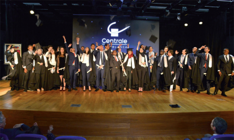L'École Centrale Casablanca fête  sa première promotion