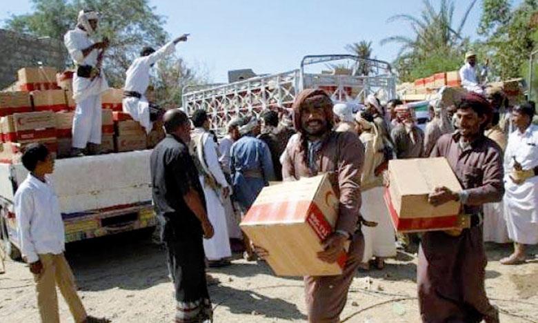 Le ministère yéménite des Affaires étrangères a demandé aux milices putschistes de se retirer intégralement de la côte ouest où transite l'essentiel de l'aide humanitaire.                                                                                                         Ph. AFP