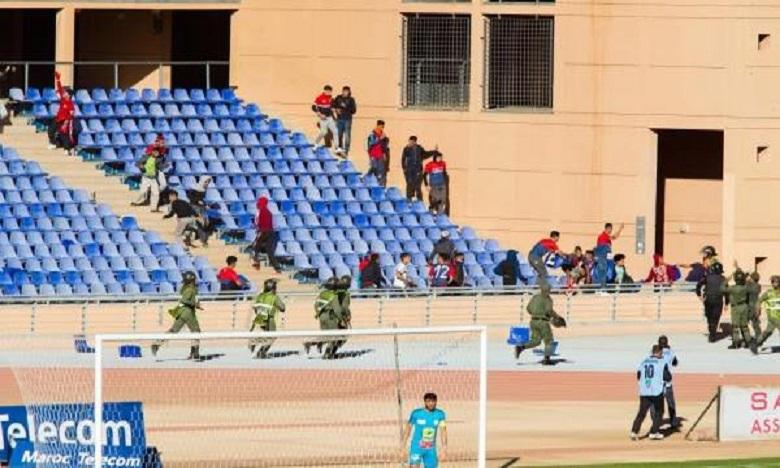 Le match OC Safi-KACM émaillé par des actes de vandalisme