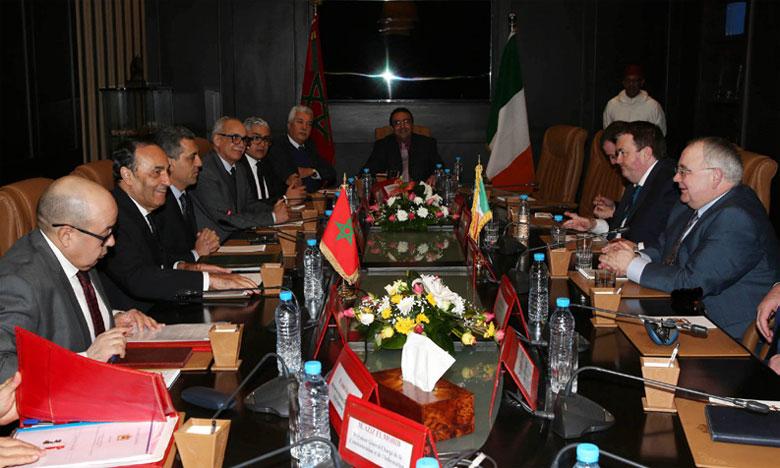 Le président de la Chambre des députés irlandaise souligne l'importance du partenariat avec le Maroc