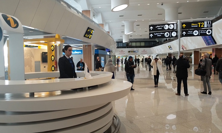 Aéroport Mohammed V : Une capacité de 34 millions de passagers d'ici 2035