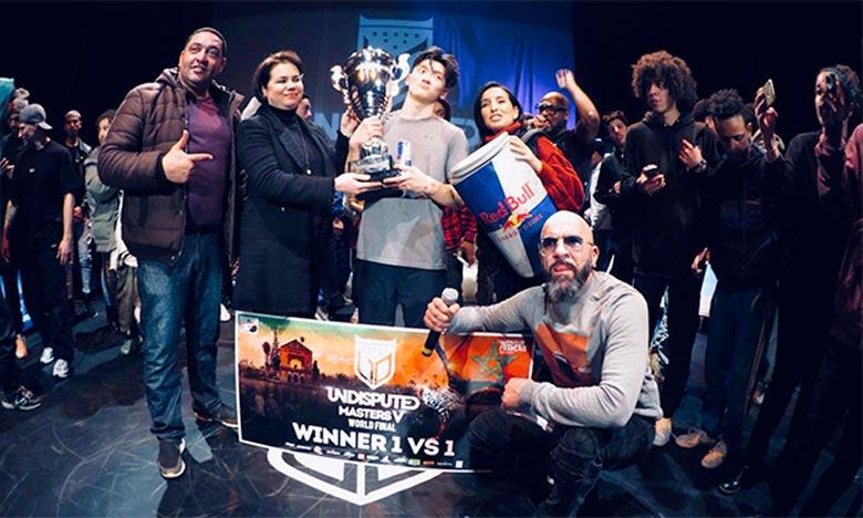 Phil Wizard remporte les 5es «Undisputed Masters» de breakdance