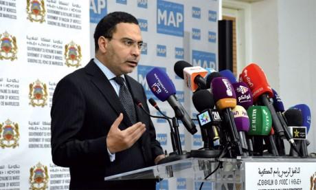 Mustapha El Khalfi: Il n'existe aucun blocage  au niveau du dialogue social