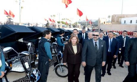Forte impulsion Royale aux programmes de réhabilitation et de mise en valeur de l'ancienne médina de Rabat