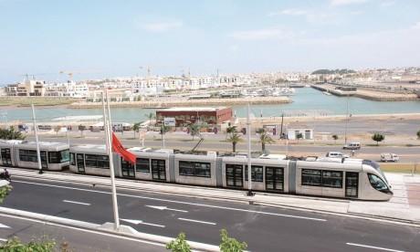 Tramway de Rabat-Salé: l'extension de la ligne 2 opérationnelle à cette date