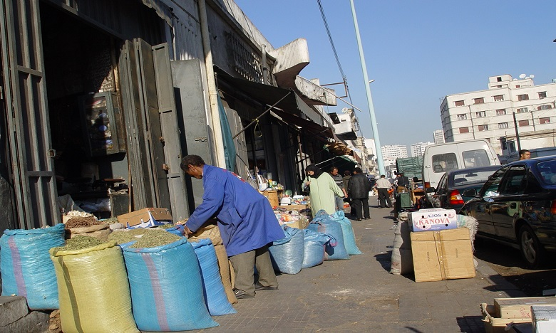 Les représentants des commerçants chez Moulay Hafid Elalamy le 16 janvier