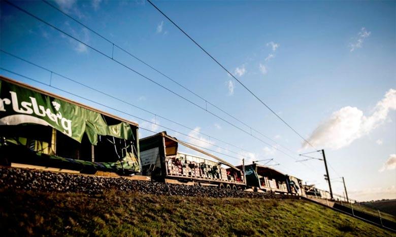 Grave accident ferroviaire au Danemark