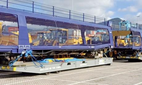 47 wagons à livrer  par Gefco à PSA Kénitra