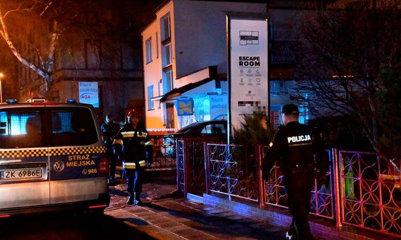 Les victimes de la tragédie de l'incendie d'une «escape room» (jeu d'évasion), à Koszalin sont des enfants de 15 ans, des jeunes filles qui célébraient un anniversaire. Ph : DR