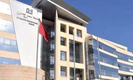 L'Université Mohammed V de Rabat en tête  du classement