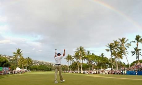 L'Américain Matt Kuchar est devenu le premier joueur lors de la saison 2018-19 à remporter deux titres sur le circuit professionnel américain PGA. Ph : AFP