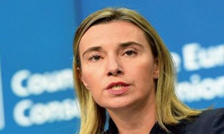 Mme Mogherini à Rabat pour consolider la dynamique  de relance des relations entre l'UE et le Maroc