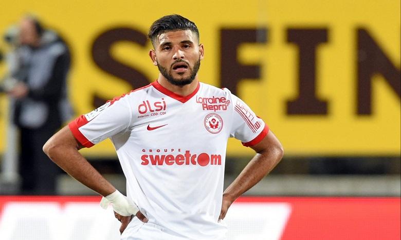 Aït Bennasser  est lié jusqu'en juin 2021 avec Monaco. Ph: DR