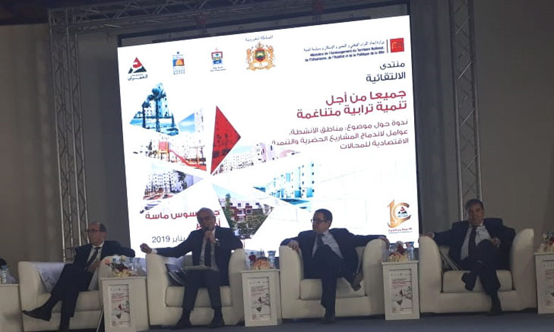 L'étape d'Agadir s'est focalisée sur les questions de la réduction du niveau de désenclavement et du déficit de développement urbain face à l'exode rural.
