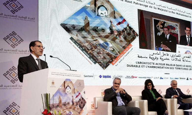 Saâd Eddine El Othmani pour un Ordre maghrébin des architectes