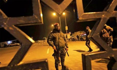 La frontière de Gaza fermée  en direction de l'Égypte
