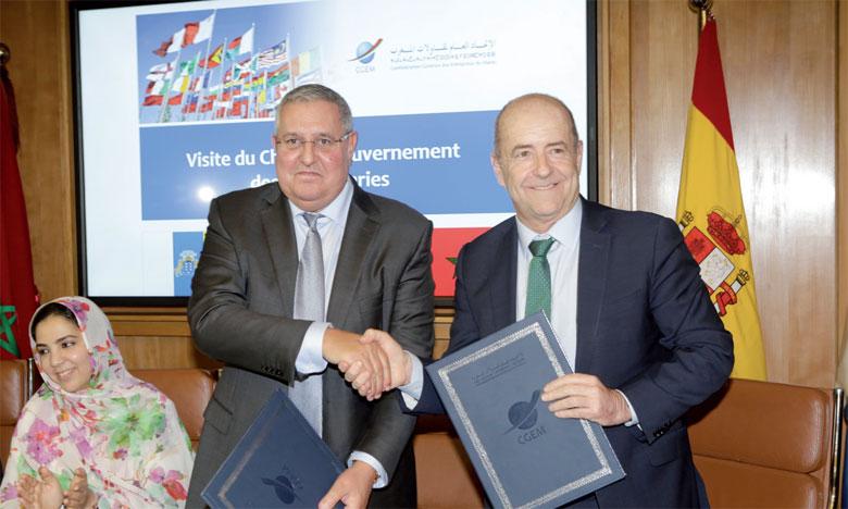 Un protocole de collaboration a été signé entre le Cemaes et l'entreprise «Proexca» afin de promouvoir les relations économiques, commerciales et entrepreneuriales être les deux pays.