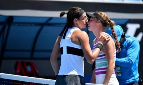 La N.1 française Caroline Garcia s'est imposée 6-2, 6-3 face à Jessika Ponchet pour ses débuts à l'Open d'Australie. Ph : DR