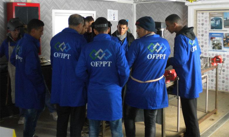 L'OFPPT s'est engagé à accompagner la stratégie de développement de la région par la formation des ressources humaines nécessaires.