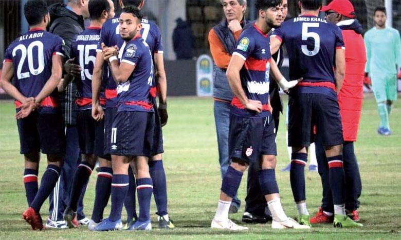 La CAF exclut Al Ismaïly et annule les résultats de ses matchs