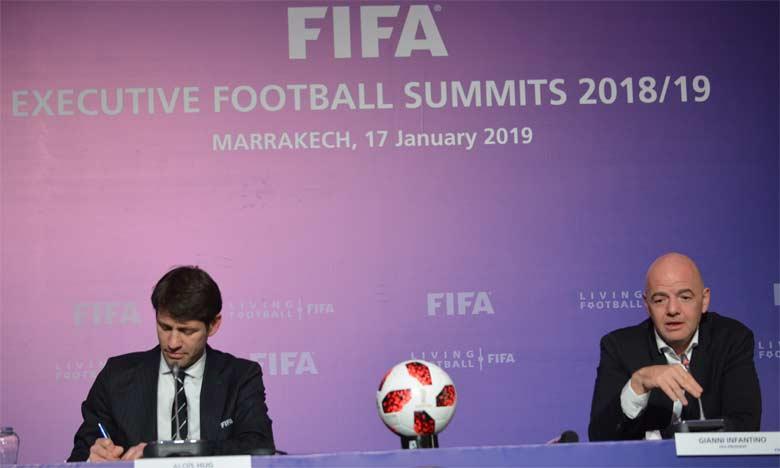 Les principales annonces de Gianni Infantino à Marrakech