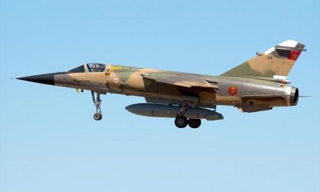 Un Mirage F1 des FAR en mission d'entrainement s'écrase dans la région de Taounate, le pilote sain et sauf