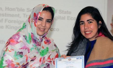 Remise à Casablanca des certificats  aux lauréats de la deuxième promotion du Centre d'excellence en technologies de l'information