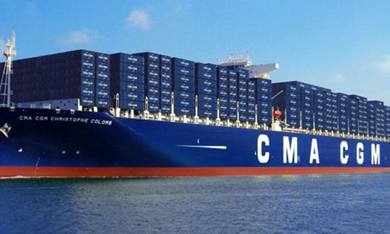 111 navires sur les 330 opérés par l'Alliance seront déployés par le groupe CMA CGM.