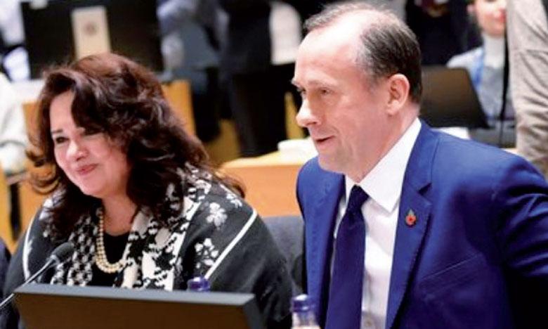 «Nous sommes très clairs: la politique du gouvernement est que l'article50 (qui régit le départ d'un État membre de l'UE) ne peut pas être prolongé», a commenté le secrétaire d'État au Brexit, Martin Callanan.                                                                                                       Ph. DR