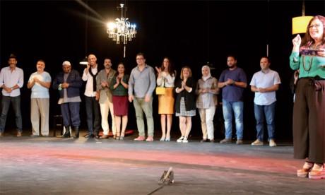 La troupe Oubour en tournée  au Maroc