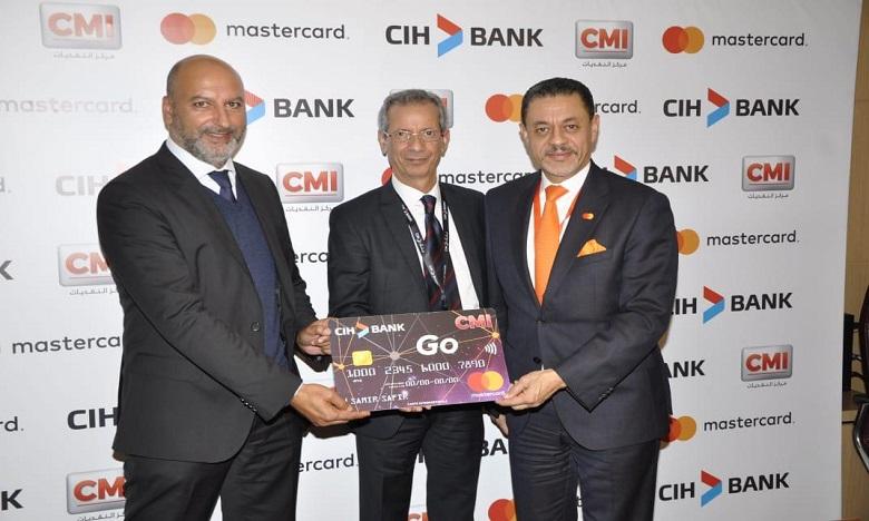 CIH Bank  lance une carte de paiement contact et sans contact