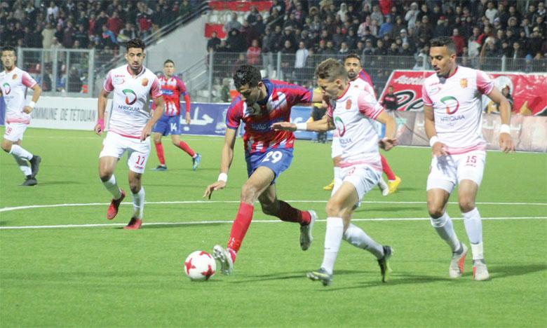Le Hassania d'Agadir rejoint le Wydad de Casablanca avec 24 points au compteur.