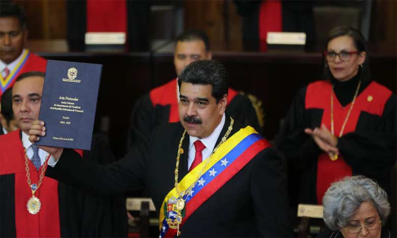 Le Président du Venezuela, Nicolás Maduro, a prêté serment le 10 janvier devant le Tribunal suprême de justice.  Ph. DR