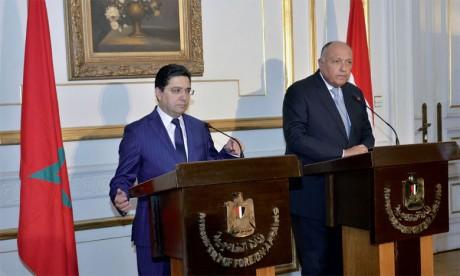Convergence de vues de Rabat et du Caire  sur les questions régionales