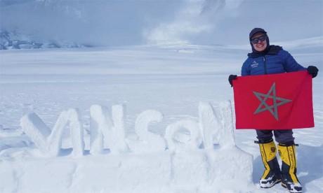 Bouchra Baibanou dresse le bilan du défi des sept plus hauts sommets au monde