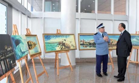 Deux artistes douaniers donnent la pleine mesure de leur talent
