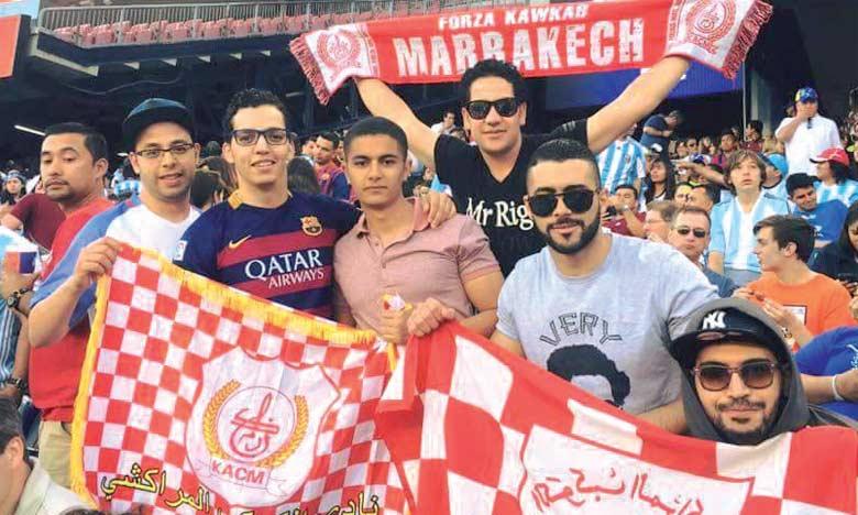 Les supporters organisent aujourd'hui  un sit-in devant le siège du club à Gueliz