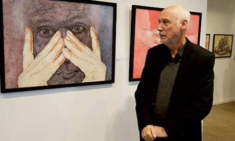 Le «Figural» de Hamid Douieb qui donne  à voir plus qu'il ne montre