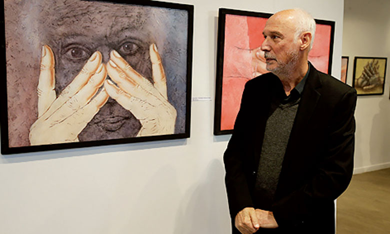 Avec son exposition «Figural», Douieb veut faire découvrir au public de Rabat sa peinture, où le corps humain fait partie intégrante de sa thématique de prédilection.