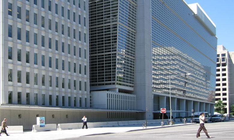 La Banque mondiale table sur 2,9% — Croissance