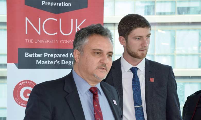 Les deux partenaires s'engagent à développer une collaboration qui donne une réponse adaptée à la demande croissante  des bacheliers en quête de suivre leur cursus au sein des universités britanniques.                                                                              Ph. Seddik